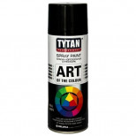 Краска акриловая Tytan Professional Art of the colour аэрозольная белая матовая 9016 400 мл